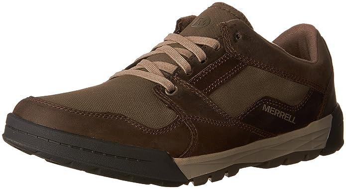 Herren Berner Shift Lace Sneakers, Schwarz (Black), 45 EU Merrell