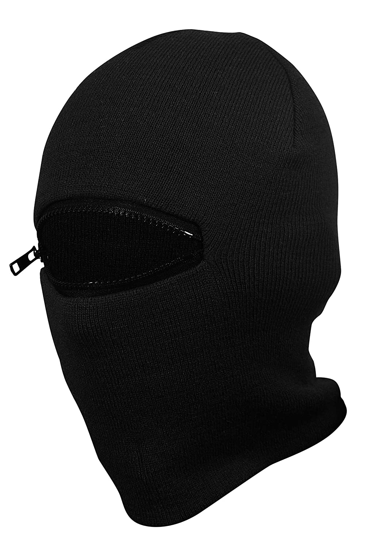 PG Wear Sturmhaube und Mütze Action in schwarz