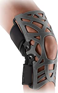 DonJoy Reaction Web Knee Support Brace with Compression Undersleeve: Grey, X-Large/XX-Large