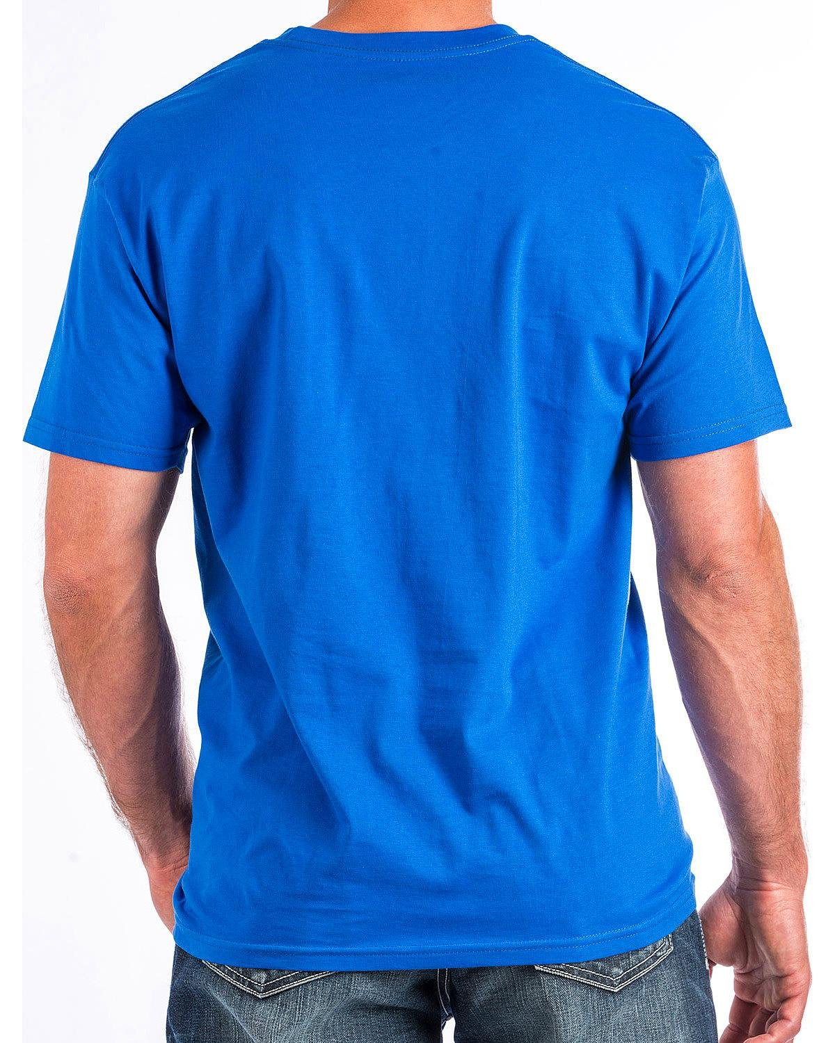 Cinch  Men's Short Sleeve Jersey Tee Blue X-Large by Cinch (Image #3)