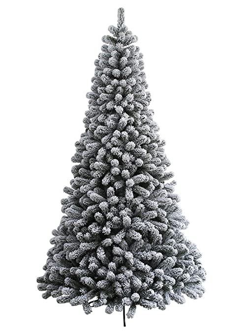 Image Unavailable. Image not available for. Color: KING OF CHRISTMAS 6 Foot  Prince Flock Artificial Christmas Tree ... - Amazon.com: KING OF CHRISTMAS 6 Foot Prince Flock Artificial