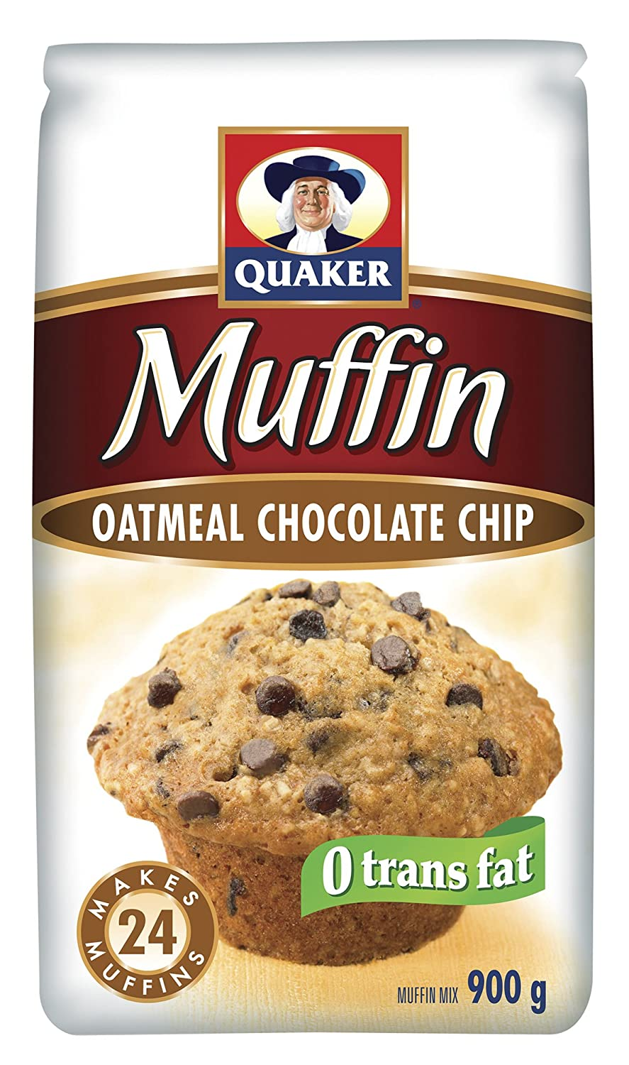 Quaker Muffin Mix Chocolate Chip (Pack of 12): Amazon.ca: Grocery ...