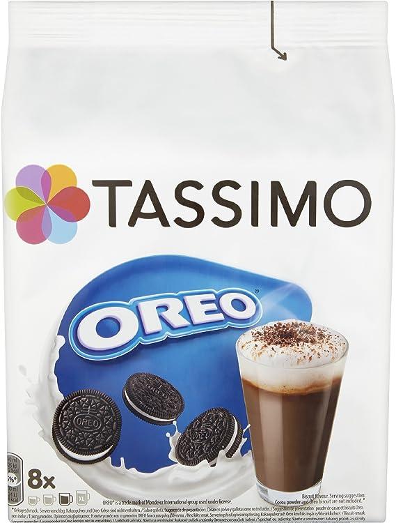 Tassimo - Capsulas de chocolate caliente sabor Oreo - (Caja de 5 ...