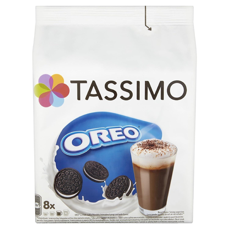 TASSIMO Oreo Chocolate Cápsulas de Café (Paquete de 5, 40 Bebidas): Amazon.es: Alimentación y bebidas