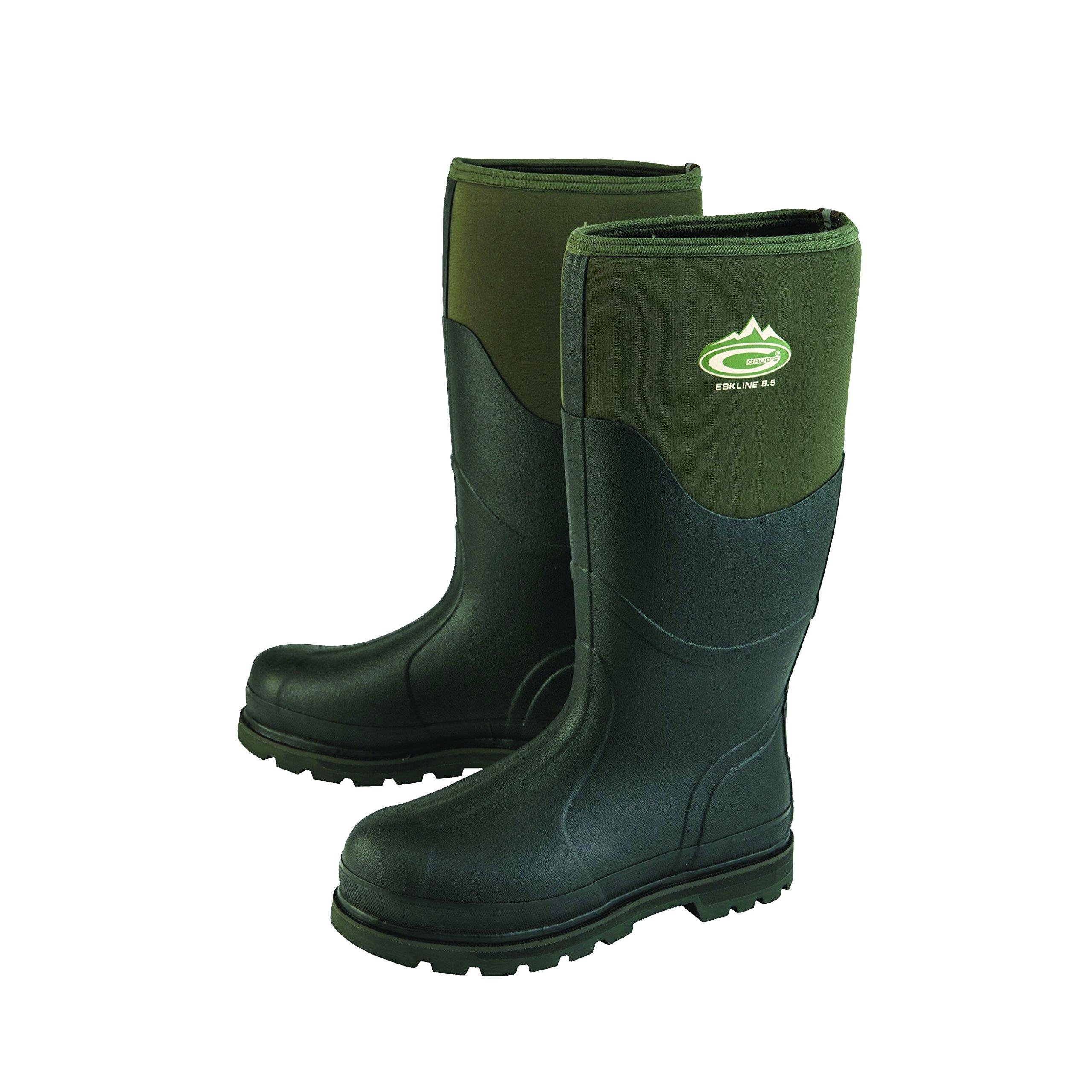 Grubs Adults Unisex Eskline Boots (8 US) (Moss Green)