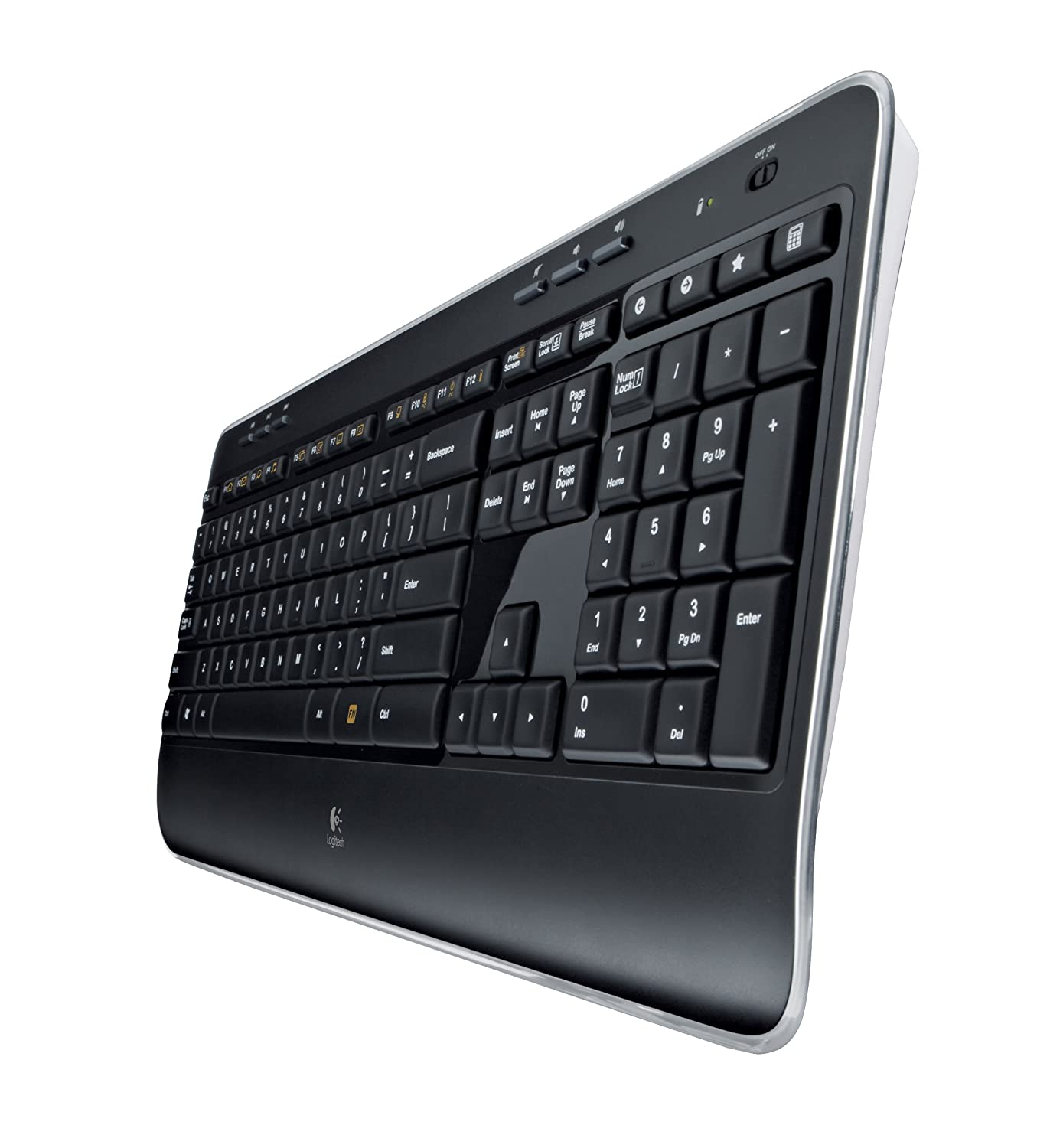 Logitech Mk520 Wireless Keyboard And Mouse Combo Mk220 Original Long Battery Life Secure 24ghz Connectivity Electronics