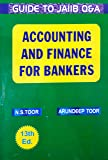 GUIDE TO JAIIB (OBJECTIVE TYPE QUESTIONS) ACCOUNTING & FINANCE FOR BANKERS NEW 13TH, EDITION 2018