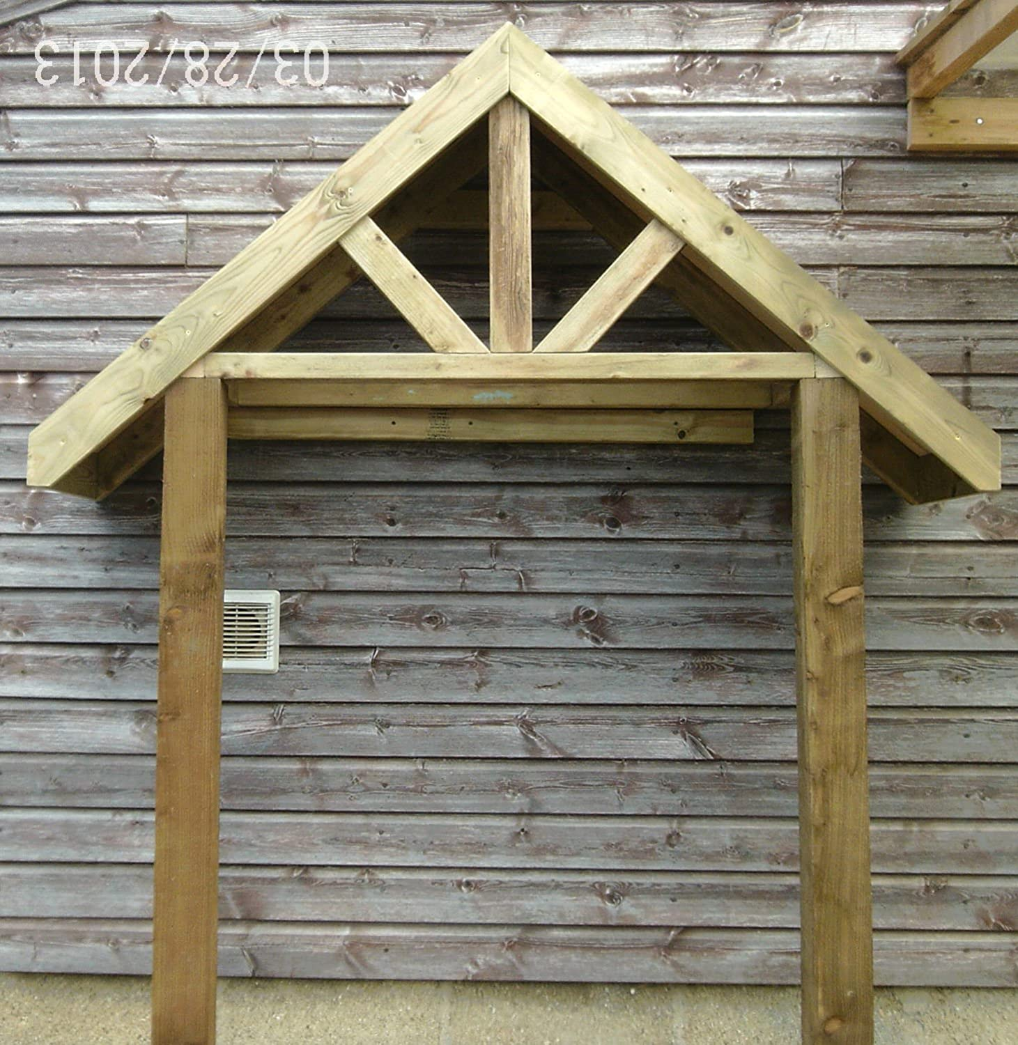 & Wooden Porch Canopy u0026 Stilts: Amazon.co.uk: Garden u0026 Outdoors