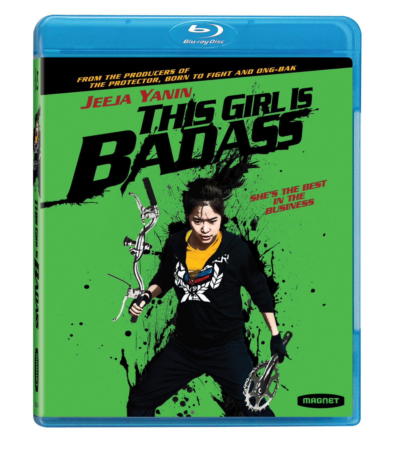Blu-ray : This Girl Is Badass (Widescreen, AC-3, )