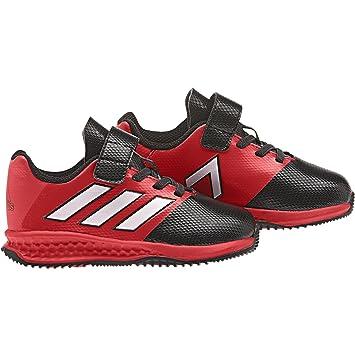 pretty nice 9ae60 1ec80 adidas RapidaTurf Ace EL I - Botas de fútbolpara niños, Negro - (NegbasFTWBLARojo),  20 Amazon.es Deportes y aire libre