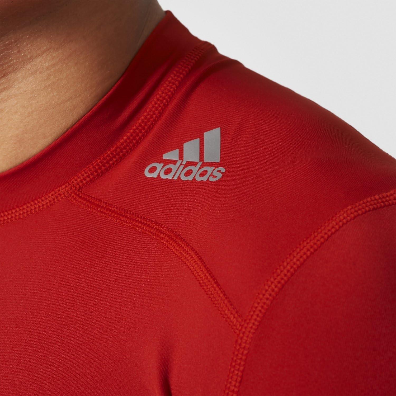 adidas Shirt Techfit Base Short Sleeve T Training Uomo