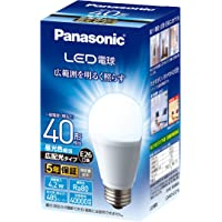Panasonic 松下 LED灯泡 灯口直径26mm 一般灯泡・广配光型 支持密闭型器具