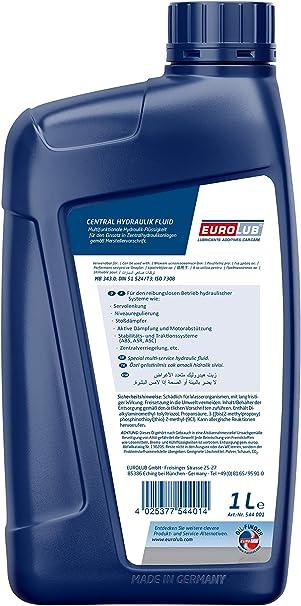 Eurolub Central Hydraulic Fluid 1 Litre Auto
