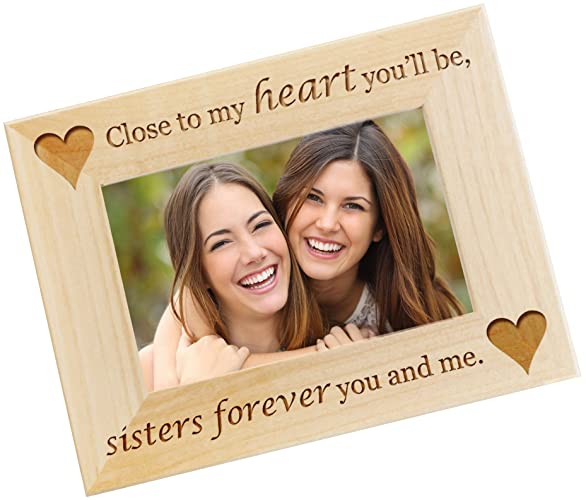 personalized photo frame sister gift from sister custom engraved sister in law - Engraved Frames