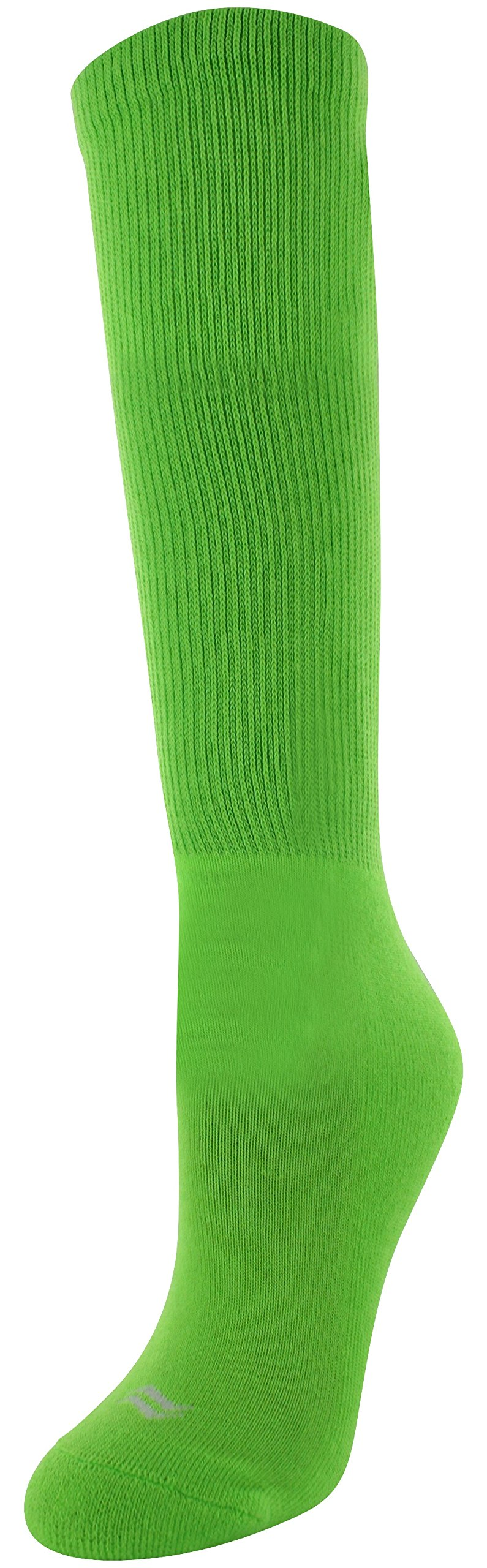 Sof Sole Girls' Child 13-Youth 4, Neon Green, Child 13-Youth 4 by Sof Sole