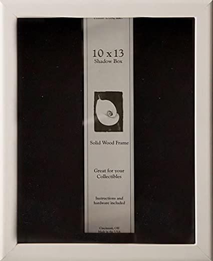 Amazon.com - 10x13 Shadow Box Wood Frame 2 1/8\