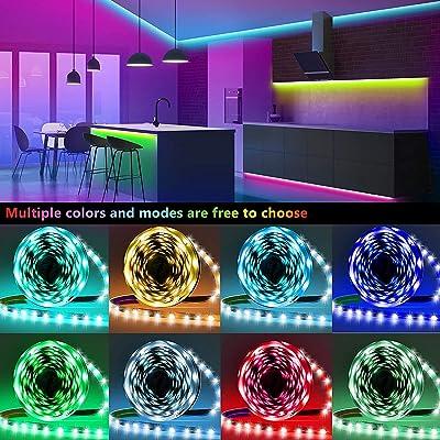 40ft Led Strip Lights Keepsmile RGB Color Changing Led Light Strips SMD 5050 LED