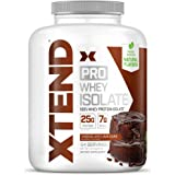 XTEND Pro Protein Powder Chocolate Lava Cake   100% Whey Protein Isolate   Keto Friendly + 7g BCAAs with Natural Flavors   Gl