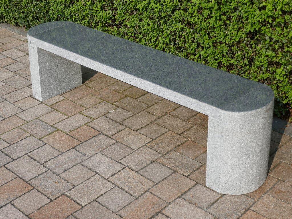 piedra natural piedra Banco de jardín muebles de jardín banco Granito * Robinson *: Amazon.es: Jardín