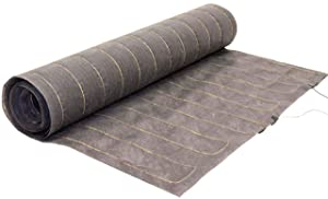 18 sq. ft, 240V. in-Floor Heated Mat for Engineered and Solid Hardwood Floor Heating (3.0 ft. x 6 ft.) WarmStep Model WS3006-240 – Multiple Sizes Available