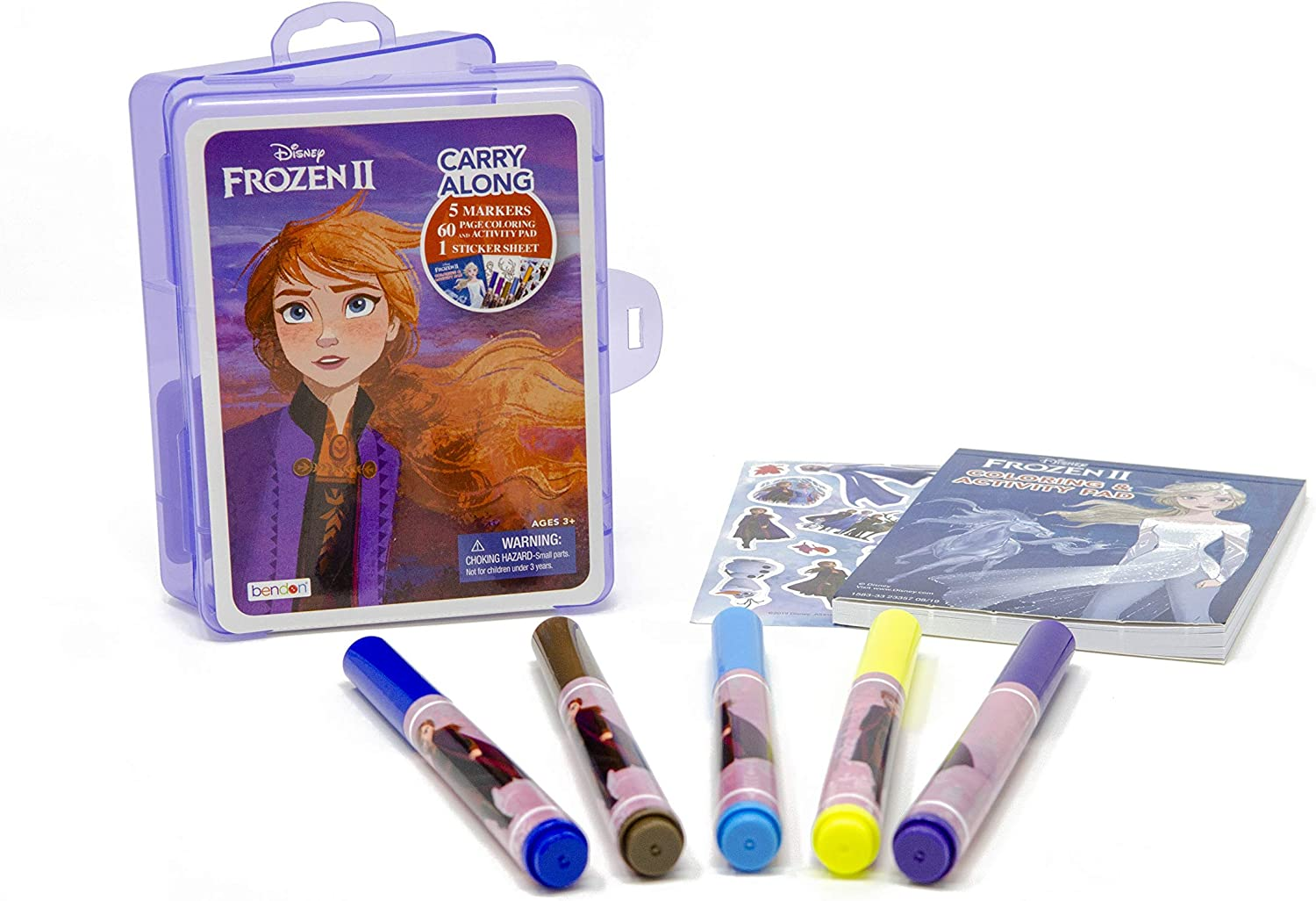 Disney Frozen 2 Carry-Along Plastic Case with Activity Pad and Stickers AS45562