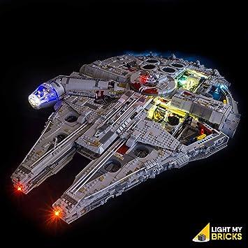 LED Light Kit For Lego Star War 75105 //05007 Millennium Falcon Building Lighting