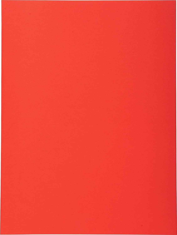 Exacompta 420312e–Confezione da 100cartelline Forever 180foglio, colore: rosso