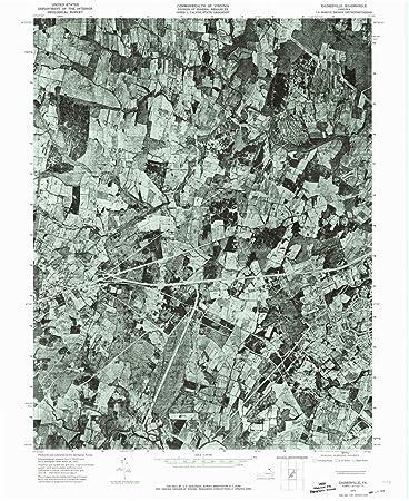 Amazon Com Yellowmaps Gainesville Va Topo Map 1 24000 Scale 7 5