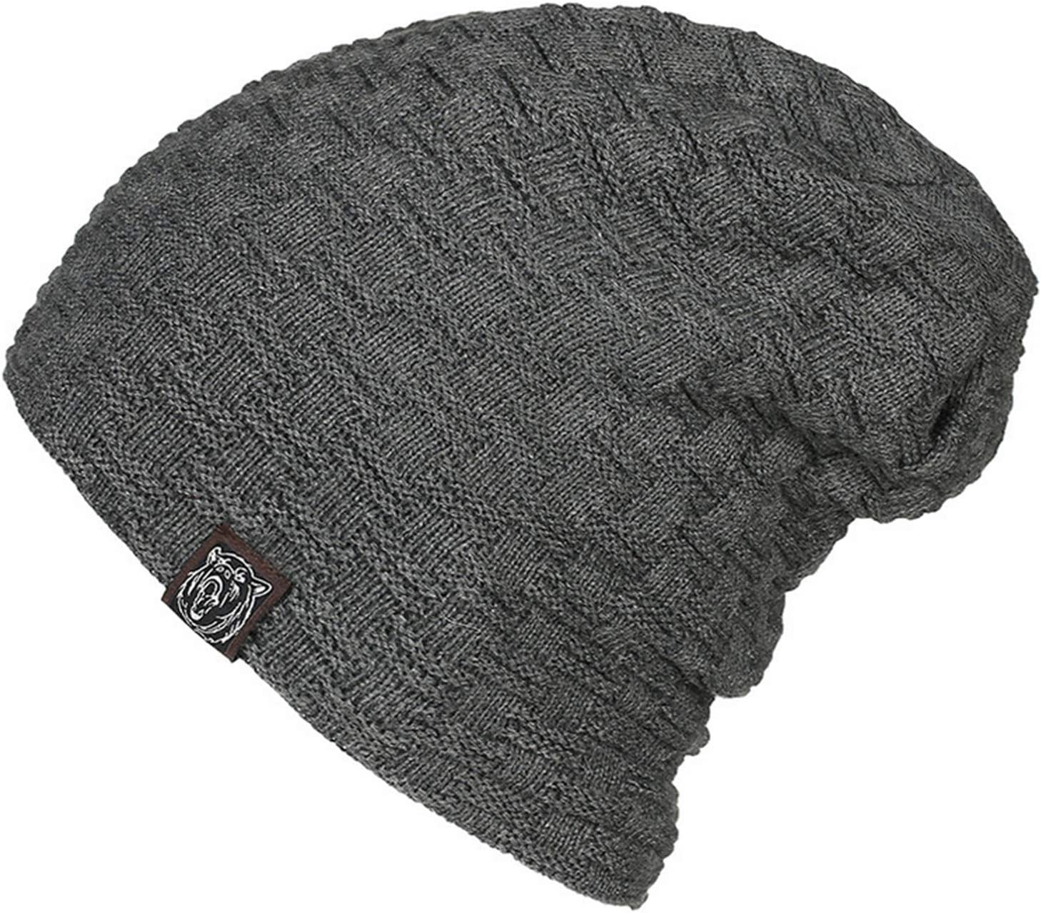 Superora Womens Hat Beanie Cap Winter Knitted Solid Plain Colour Soft Warm Stretchy