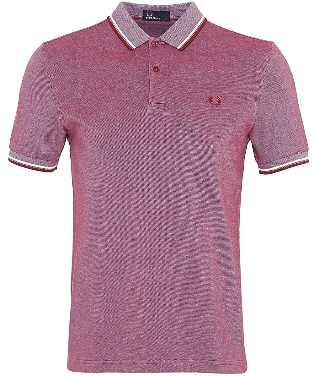 Glacox Sw Claret S Frouge Perry M3600, Polo Homme, gris, Taille Unique