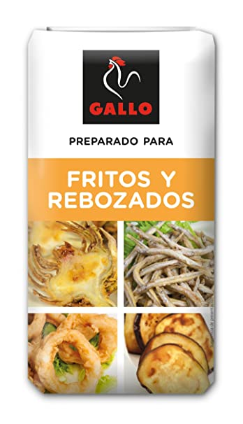 Pastas Gallo - Harina De Fritos Y Rebozados Paquete 1000 gr - Pack de 10 (