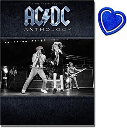 AC/DC Anthology - Songbook for Piano, Vocal, Guitar - The Basebook ...