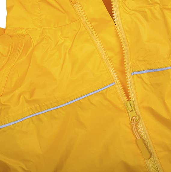 Dry Kids wasserdichter und leichtgewichter Kinder Regenanzug Jungen und Madchen