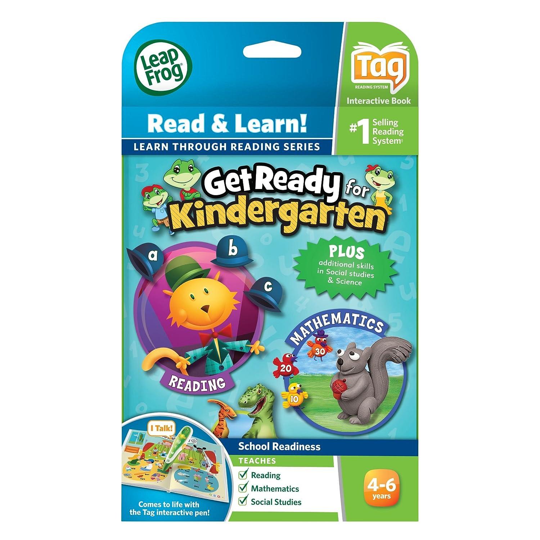 amazon com leapfrog leapreader book get ready for kindergarten