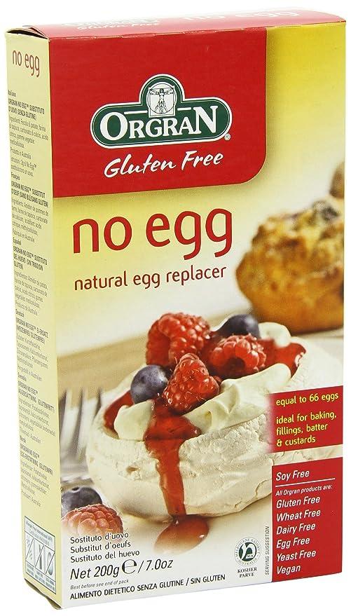 Orgran No Egg Sustituto del Huevo Mix en Caja - 200 gr