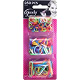 Goody Ouchless Polybands Elastics, Multi Size, 250 ct