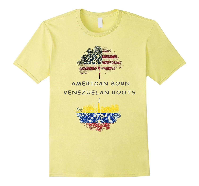 American born, Venezuelan roots T-shirt-FL