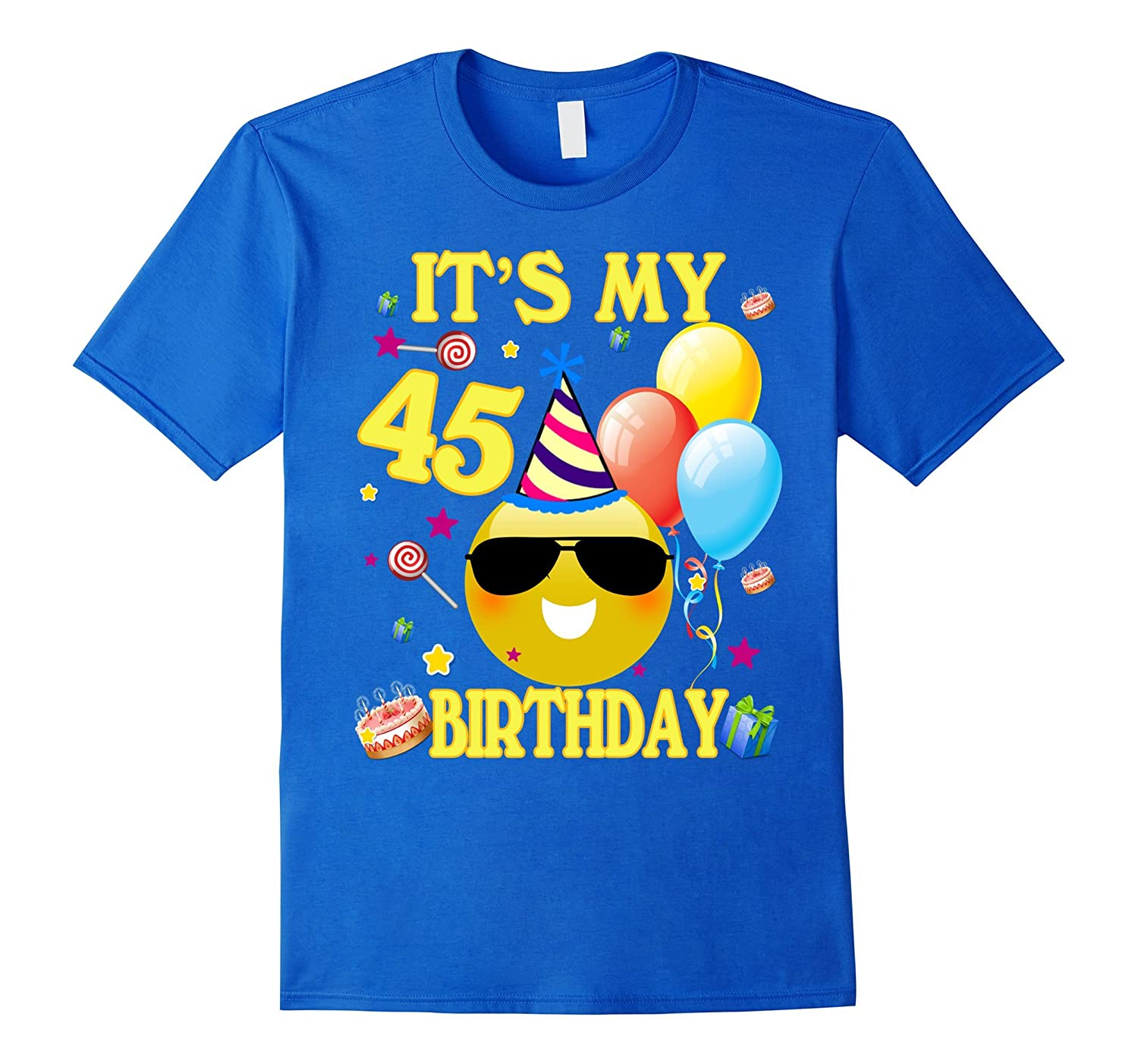 Its My 45th Birthday Shirt 45 Years Old Gift ANZ