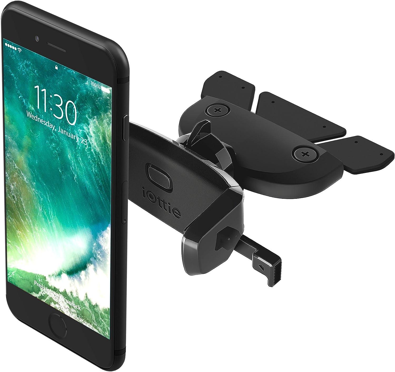 Iottie Hlcrio123 Easy One Touch Mini Universal Passiv Kfz Halter Mit Cd Slot Schwarz Navigation