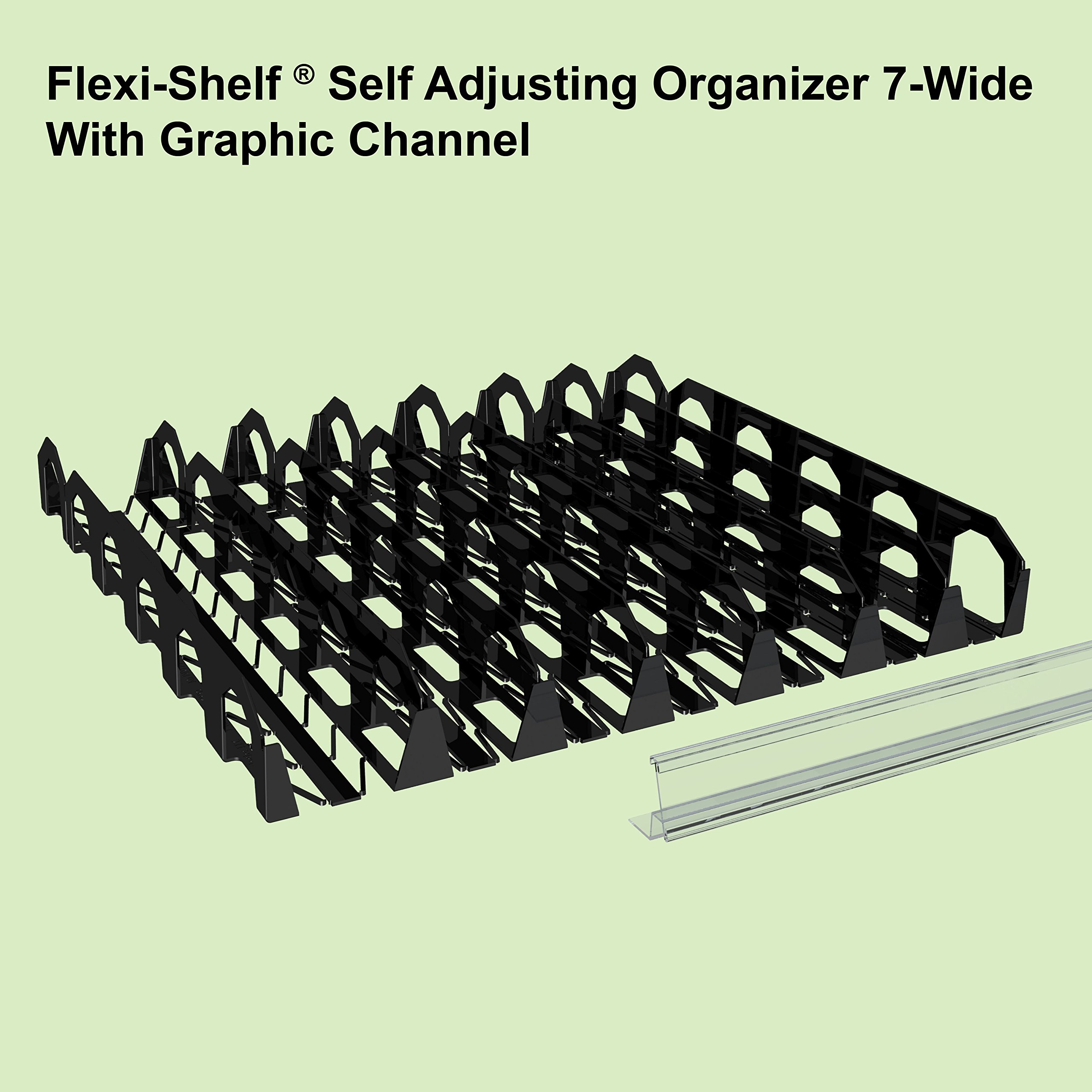 Display Technologies, LLC Flexi-Shelf Flat Shelf Organizer by Display Technologies, LLC