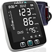 [All New 2020] Blood Pressure Monitor by LAZLE: Automatic Upper Arm Machine & Digital...