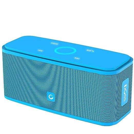 450 opinioni per Cassa altoparlante Bluetooth portatile Soundbox DOSS,Pulsanti Touch, Suono