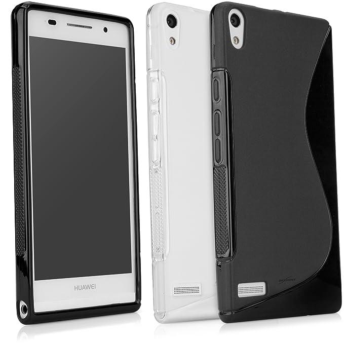 Amazon.com: BoxWave Huawei Ascend Serie Carcasa de TPU ...