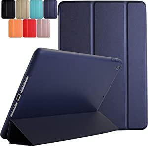 DuraSafe Cases iPad PRO 11 2020 MY232LL/A MXDC2LL/A MXDE2LL/A MXDG2LL/A MY252LL/A MXDD2LL/A MXDF2LL/A MXDH2LL/A MY332LL/A Ultra Slim Case with Auto Sleep/Wake Function & Classic TPU Back - Navy Blue