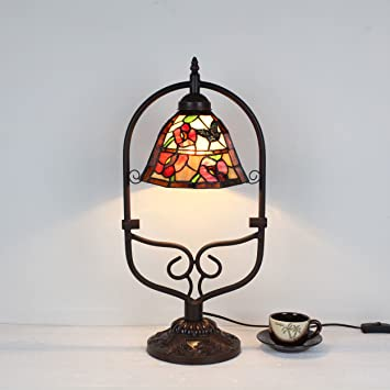 HDO Lámpara de cabecera de lámpara de Mesa Antigua Retro ...