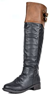 c5c234e7b71 DREAM PAIRS Women s Knee High and up Riding Boots