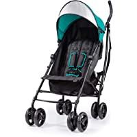 Summer 3Dlite Convenience Stroller, Teal – Lightweight Stroller with Aluminum Frame, Large Seat Area, 4 Position Recline…