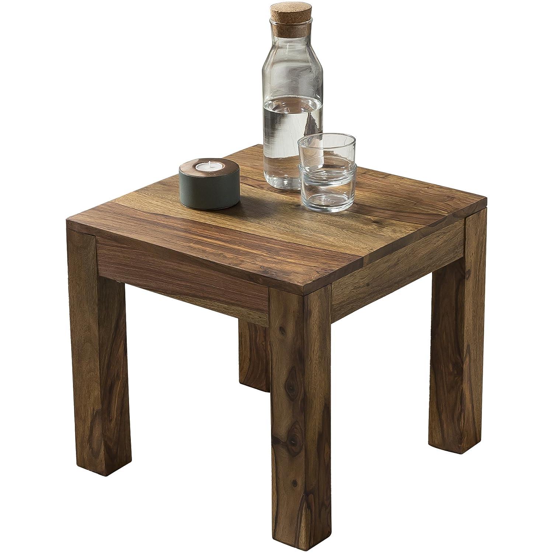 Wohnling WL1.204 - Mesa auxiliar (madera maciza, 45 x 45 cm): Amazon ...