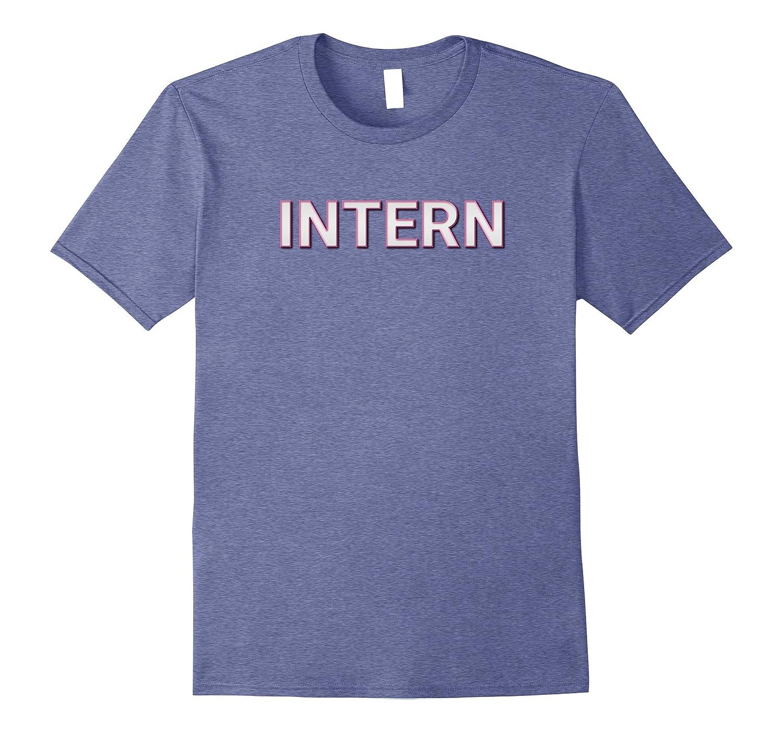 Intern Matching Film Crew TV Set T Shirts-TJ