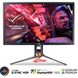 "ASUS ROG Swift PG27UQ 27"" 4K UHD 144Hz DP HDMI G-SYNC HDR Aura Sync Gaming Monitor with Eye Care"